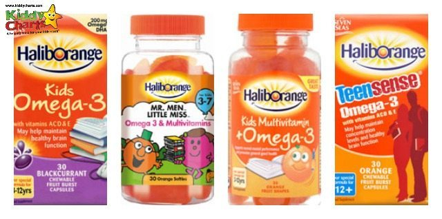 We are taking a look at the Haliborange products today on the blog - we have a few parents trying them, as well as my kids. What did we all think of them?