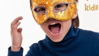 Halloween crafts: Simple halloween masks for kids