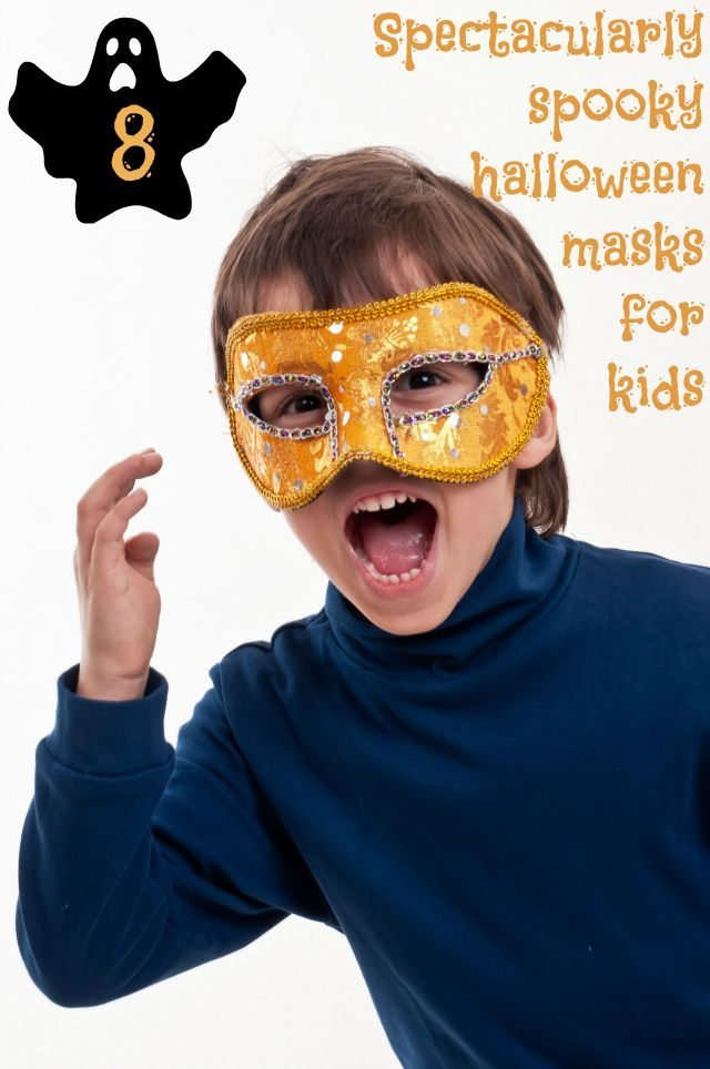 Halloween crafts are always so much fun with the kids - and we have something fun and useful! Why not get them to cut out and wear these excellent masks to their Trick or Treating fun?