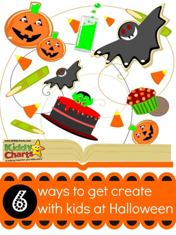 Stuck with ideas for getting creative with the kids this halloween - then check out these ideas and go!