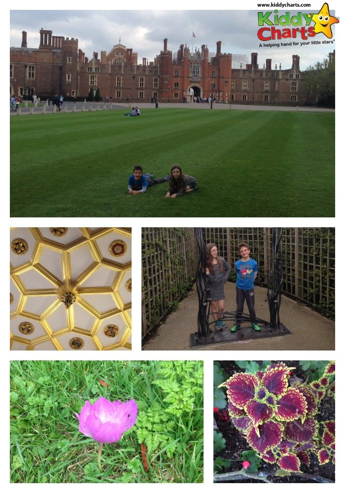 Our day at Hampton Court for our vitamin water build a bike dualthon