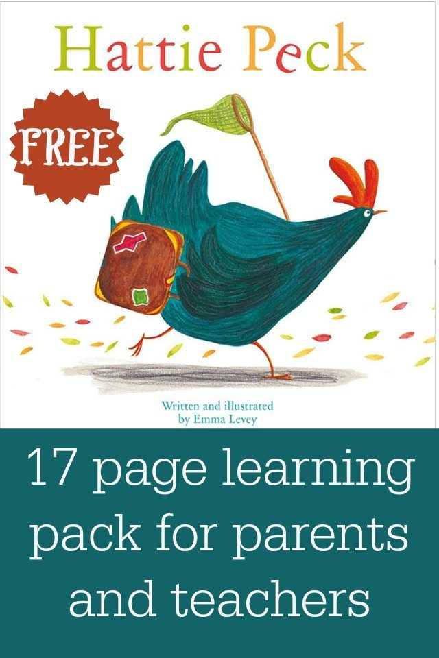 Hattie Peck is a charming tale about a chicken that really, really wanted an egg. We provide some wonderful free reading worksteets, and activity sheets, as well as lesson plans for the book for free. There are 17 free sheets, including lesson plans. Check out the Story Station website, and our blog for more free resources too.