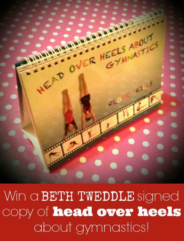 Win a signed copy of head over heels about gymnastics - signed by Beth Tweddle of all people - what kid wouldn't love that, etc? Closes 30th April.