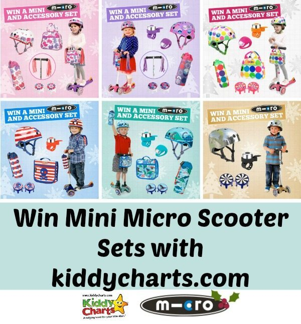 Win a mini Micro Scooter Set with accessories - closes 8th Dec, so hurry!