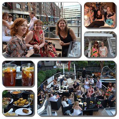 Mad Bloggers award yacht reception