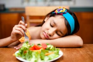 Child body image: kids shouldn't be put off healthy food...