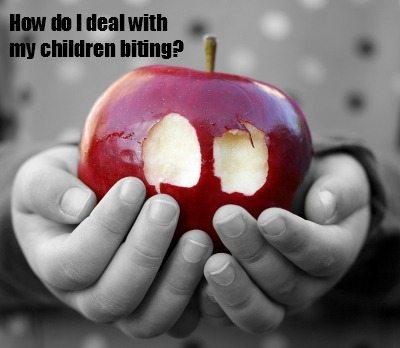 Children Biting: How do I cope?