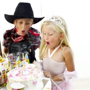 Childrens party ideas for winter: its not easy when there is no sun...