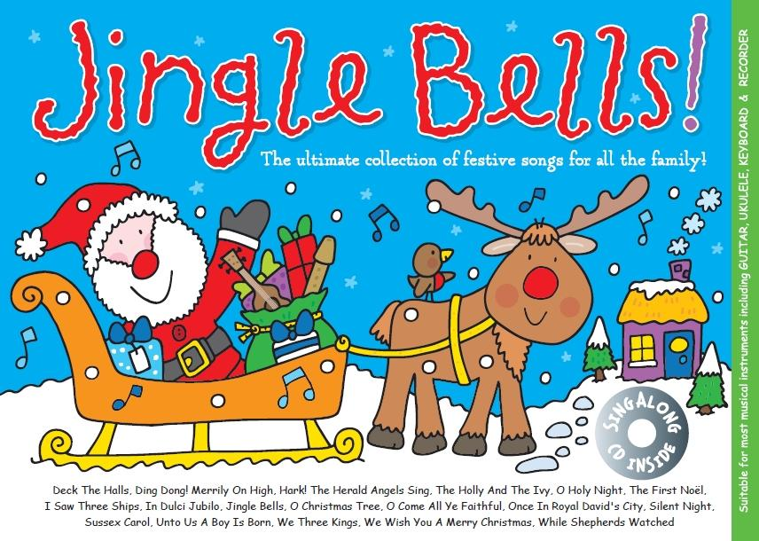 Christmas music for kids: Win Jingle Bells music activity books & CDs