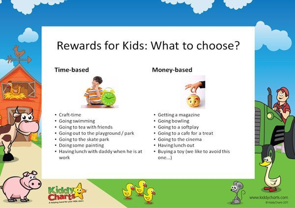 Rewards for kids: giving a little time goes a long way
