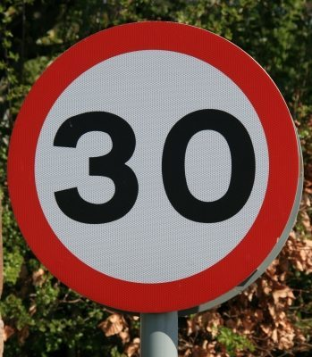 Road Safety for Children: Remember its 30 for a reason too...