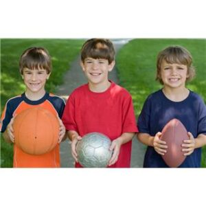 Outdoor play: ball games