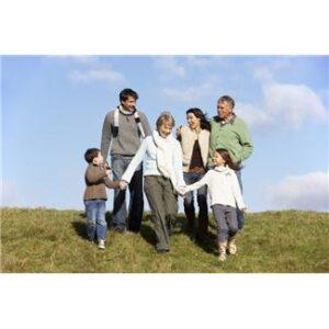 Outdoor play: Family walks