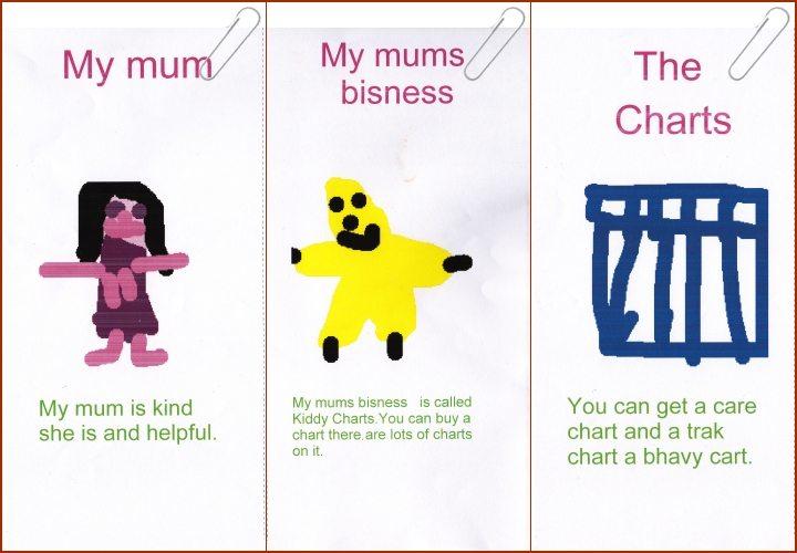Chore Charts; Chatterbox Marketing Leaflet