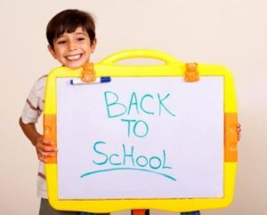 Preparing a child for school - Do your emotions effect them?
