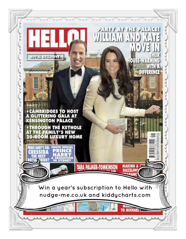 nudge-me.co.uk giveaway: Hello magazine