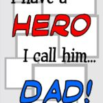 Father's Day printables as gifts for Dad