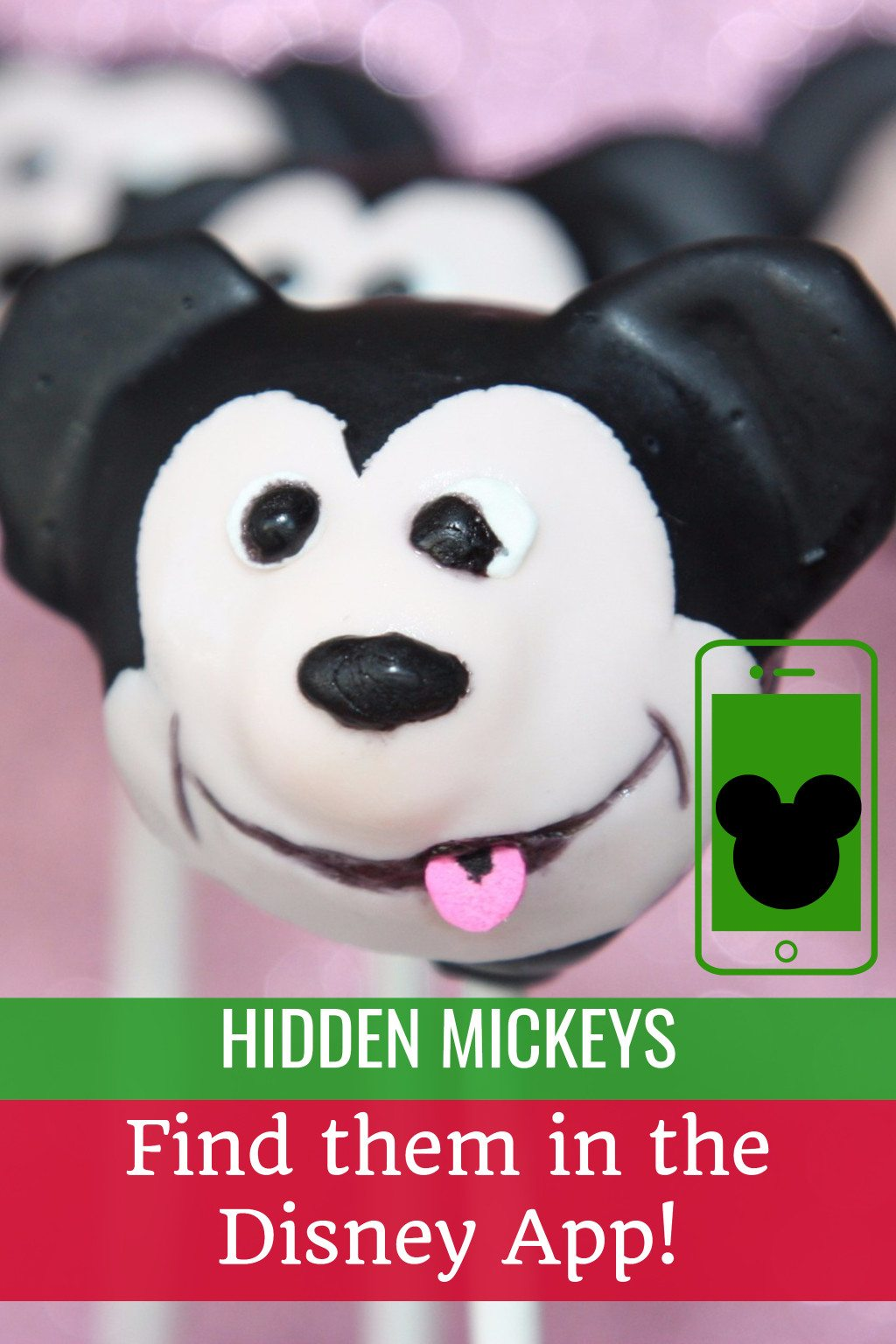 We've been hidden mickey hunting inside the Disney App for Walt Disney World Florida - can you find them too?