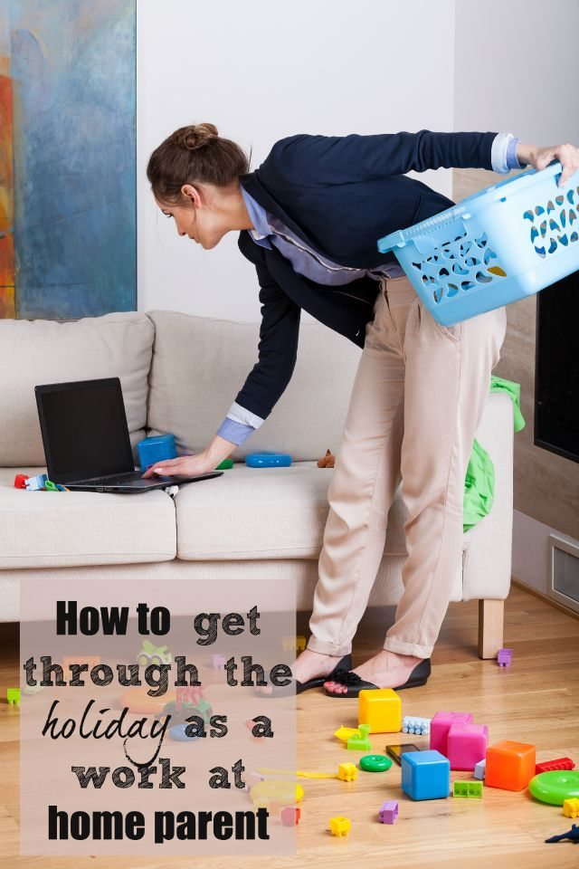 Are you home working with kids? Do you find the holidays a bit of a trial? Here are some great ideas to help get through the holidays when you are home working - they work for me - honest!