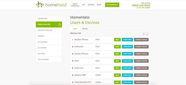 And my list of HomeHalo devices goes on and on....