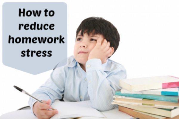 Homework stress: Header
