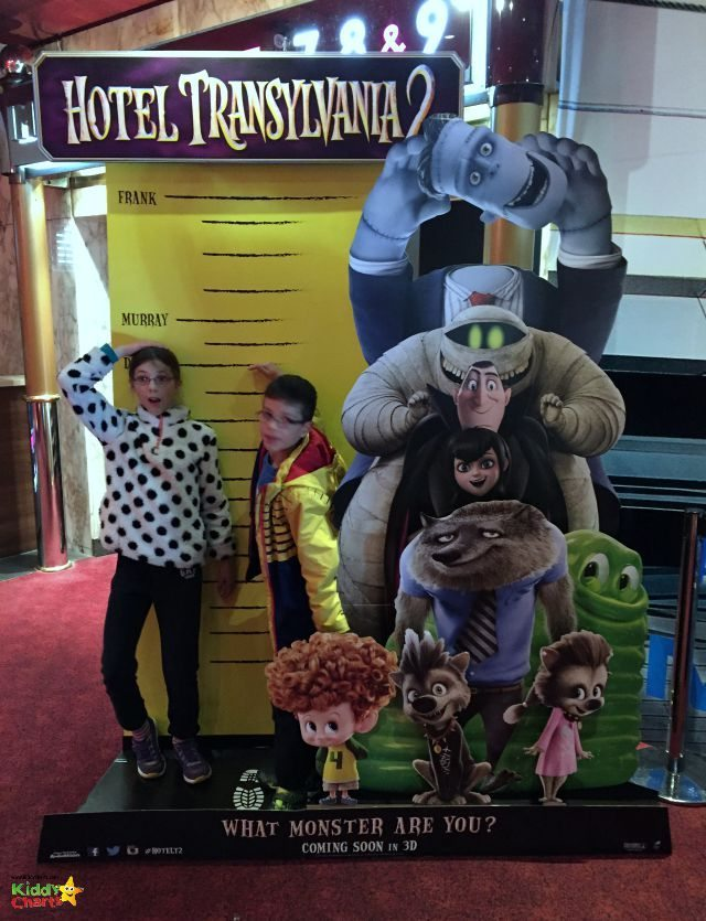 We went to see the Hotel Transylvania 2 film today - did we like it? Why don't you hop on over to the blog and find out!