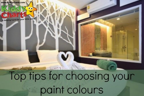 How to choose your paint colours: Infographic