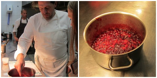 How to Cook a Turkey: Cranberry Sauce