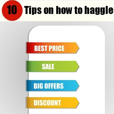 How to Haggle: 10 tips