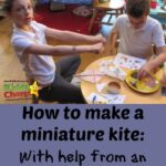 How to make a miniature kite with The Weekend Box Club