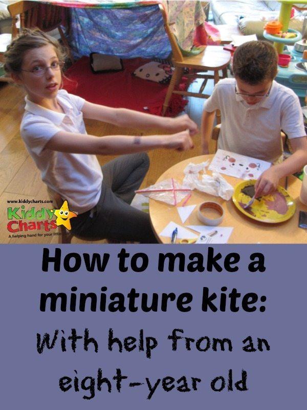 How to make a miniature kite with Weekend Box Club