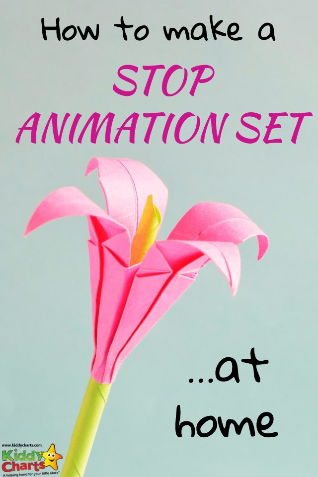 Hot to make a stop animation set at home