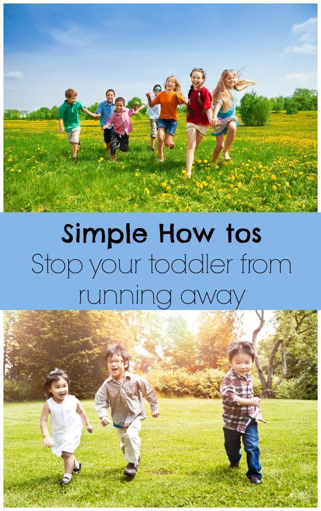 What can you do if your toddler runs away? How can you stop them from doing it again, particularly if they just don't get it? We have some ideas in our Google Hangout on the topic.