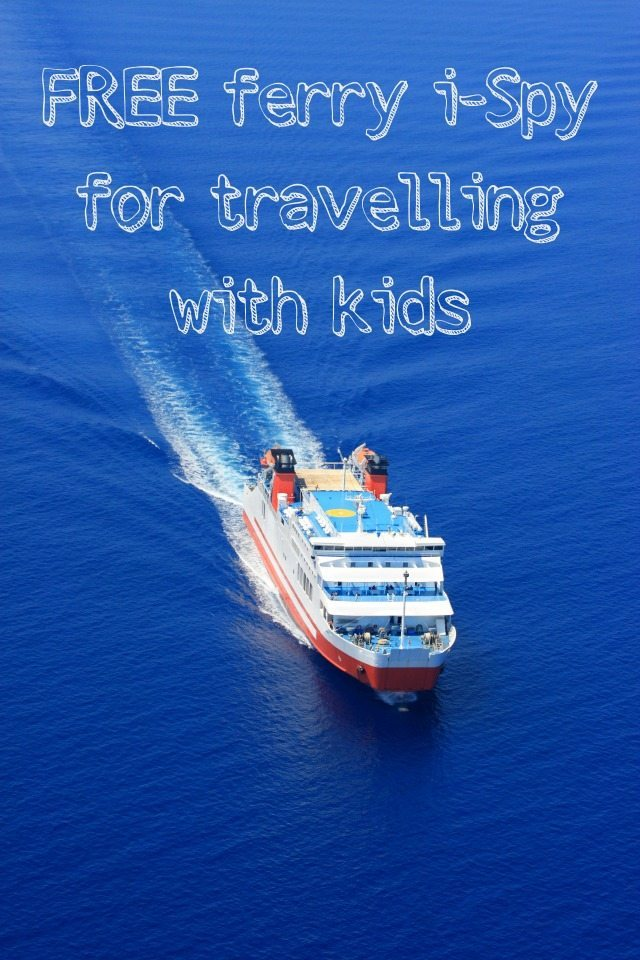 If you are anything like us, Ferry travel can be a little tough - just because there is a reasonable amount of time you need to entertain the kids...so why not use our free Ferry i-spy? We are going to try it out when we go to France this year.