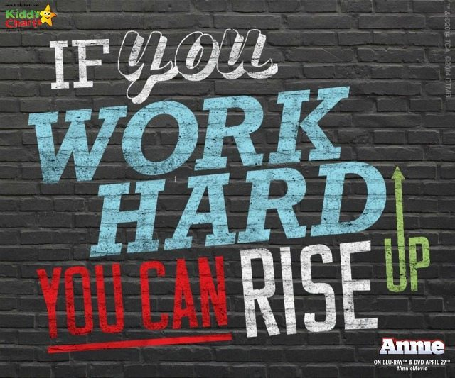 If you work hard at it, you can rise up - keep on keeping on!