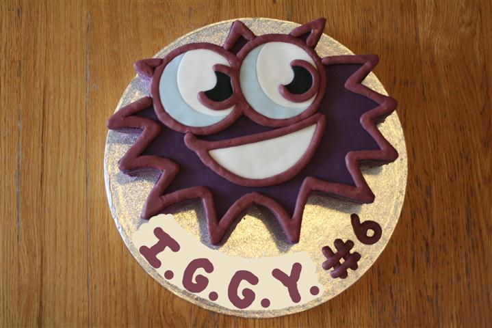 Iggy Moshi Monster Party Cake