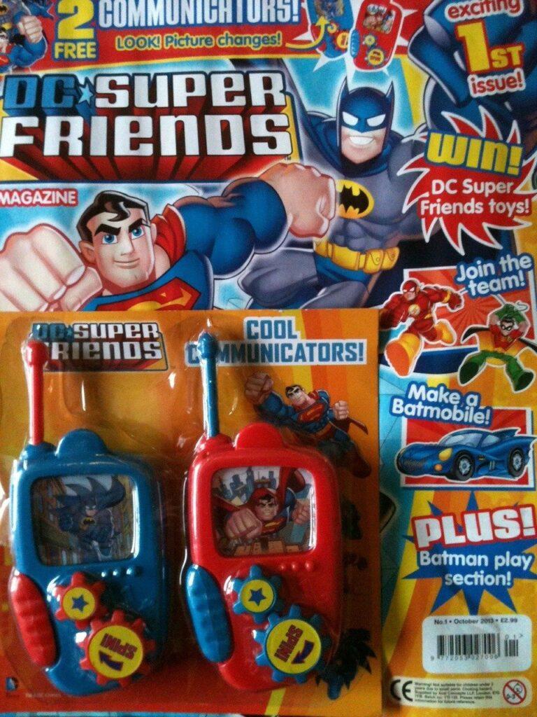 DC Super Friends Magazine