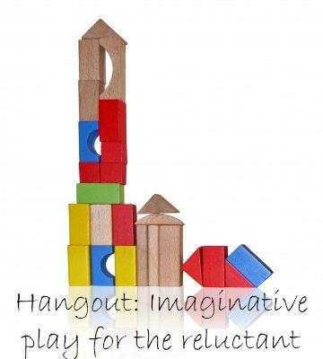 Imaginative play: Encouraging it