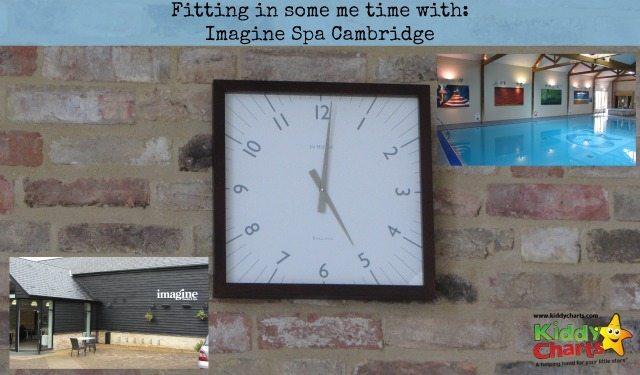 Imagine Spa Cambridge: Me time