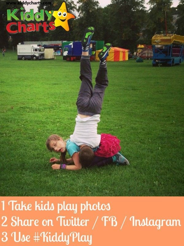 Share your photos of kids play with us - to be in with a chance of winning!