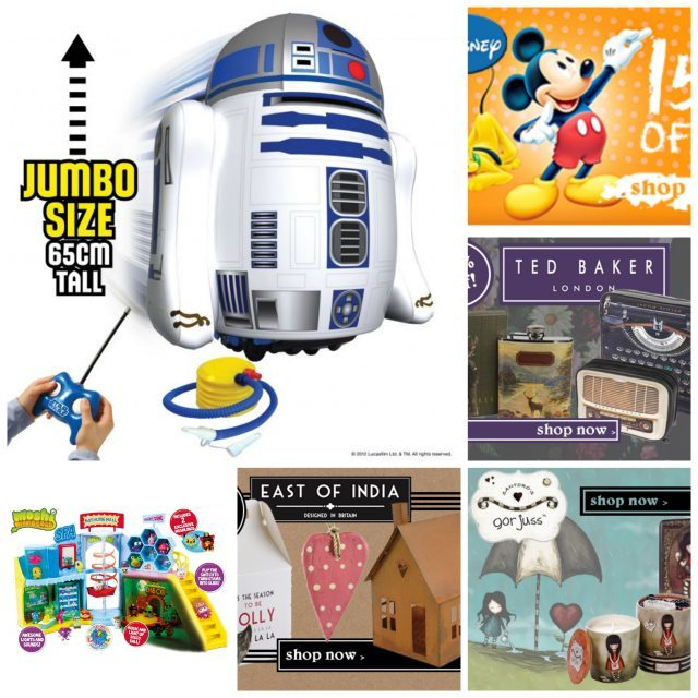 Internet Gift Store: Collage