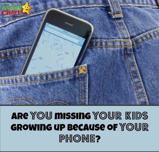 Do you spend a lot of time on the phone when you are out with the kids? Are you paying them enough attention? Don't miss them growing up because of your phone, try and be disciplined in using it, and the rewards are worth it!