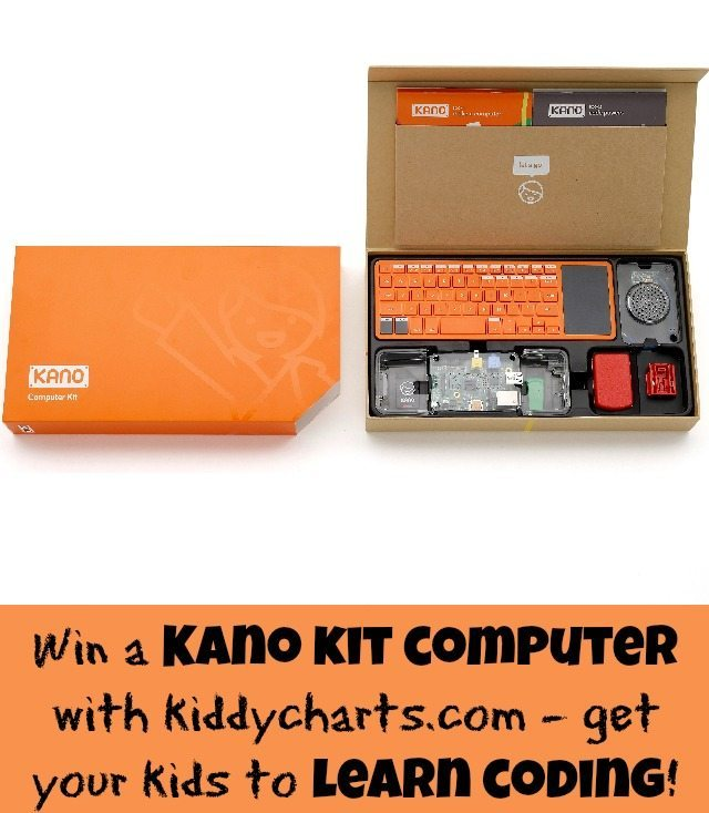 Would you like to terach your kids to learn coing? Then how about a Kano kit computer - we have one to giveaway on the blog. Closes 16th April, 2015