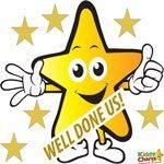 KiddyCharts Gold Star Linky: Proud Mama
