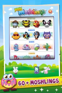 KiddyCharts Printable Reward Charts Moshi Monsters Home Screen and Menu