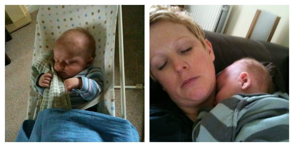Baby Reflux: Being upright after a feed works wonders...and it did with Oscar