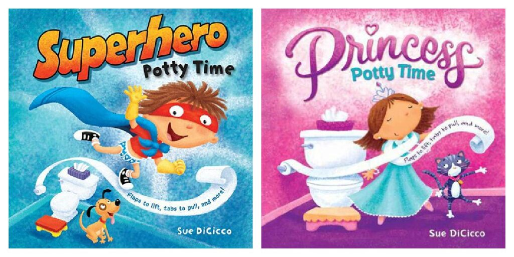 Best potty training books: Potty time books