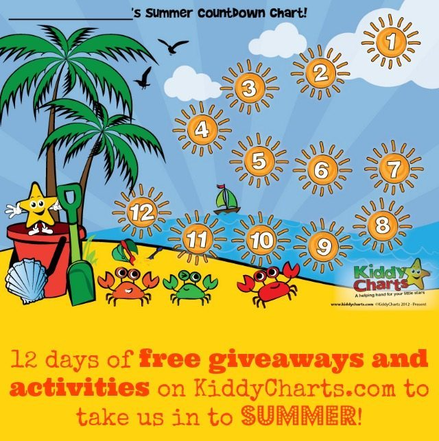 We love the summer with our kids, there is always so much to do and to see. BUT to make things even easier, we are giving away lots a great ideas, and have 12 fantastic giveaways running in July to help you out. Sign up today so you don't miss any of them!