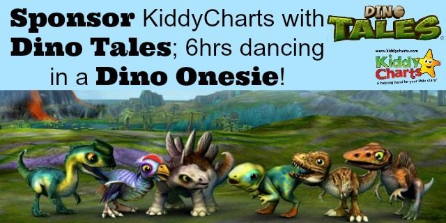 We are dancing at Wembely on the 8th March in a Dino Tales onesie thanks to our lovely sponsor - please give generously to Red Nose Day and TeamHonk. You wouldn't want me to shake my Dino touche for nothing would you?