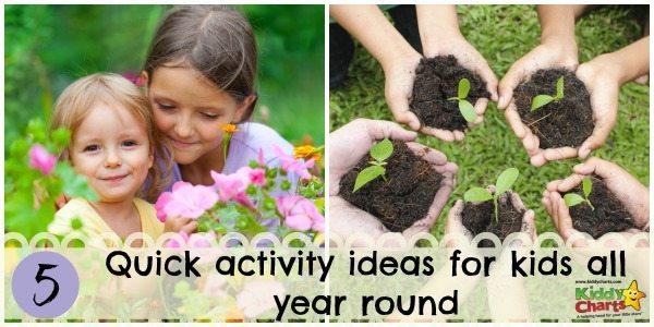 Kids activities all year round: header